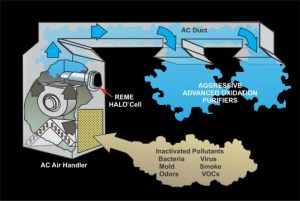 Reme Halo Duct Filter System