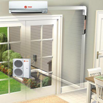 Trane Ductless Mini split air conditioner diagram